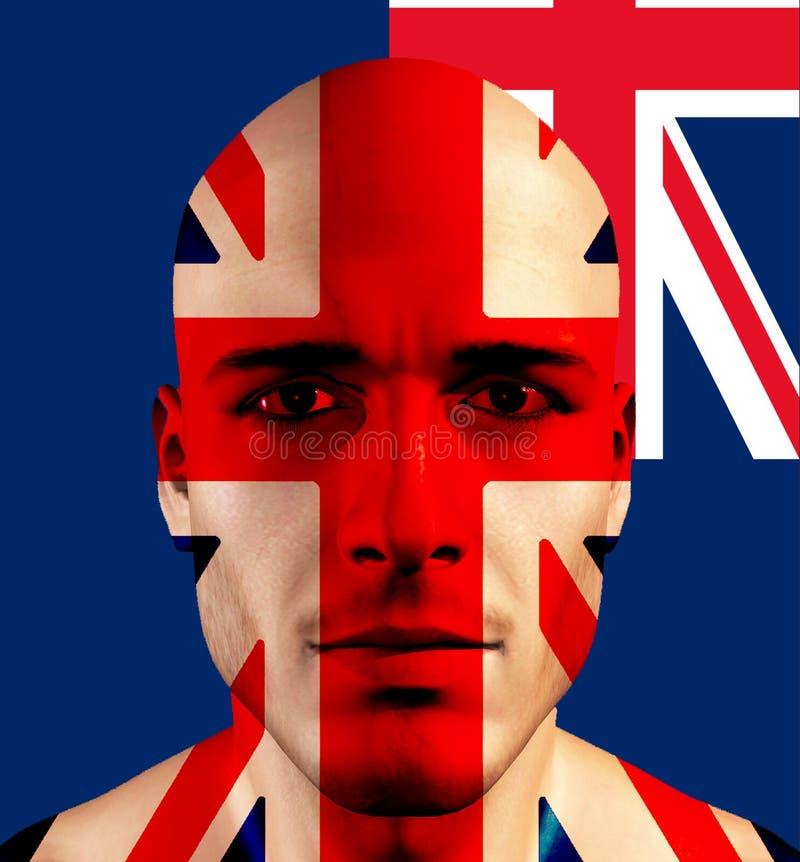 Aussie het UK stock illustratie