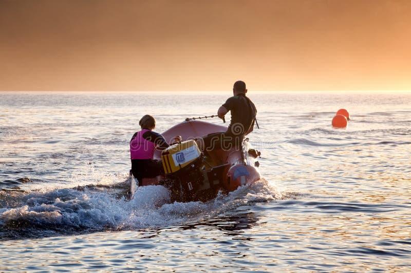 Aussie kipiel ratowników trenować obraz royalty free