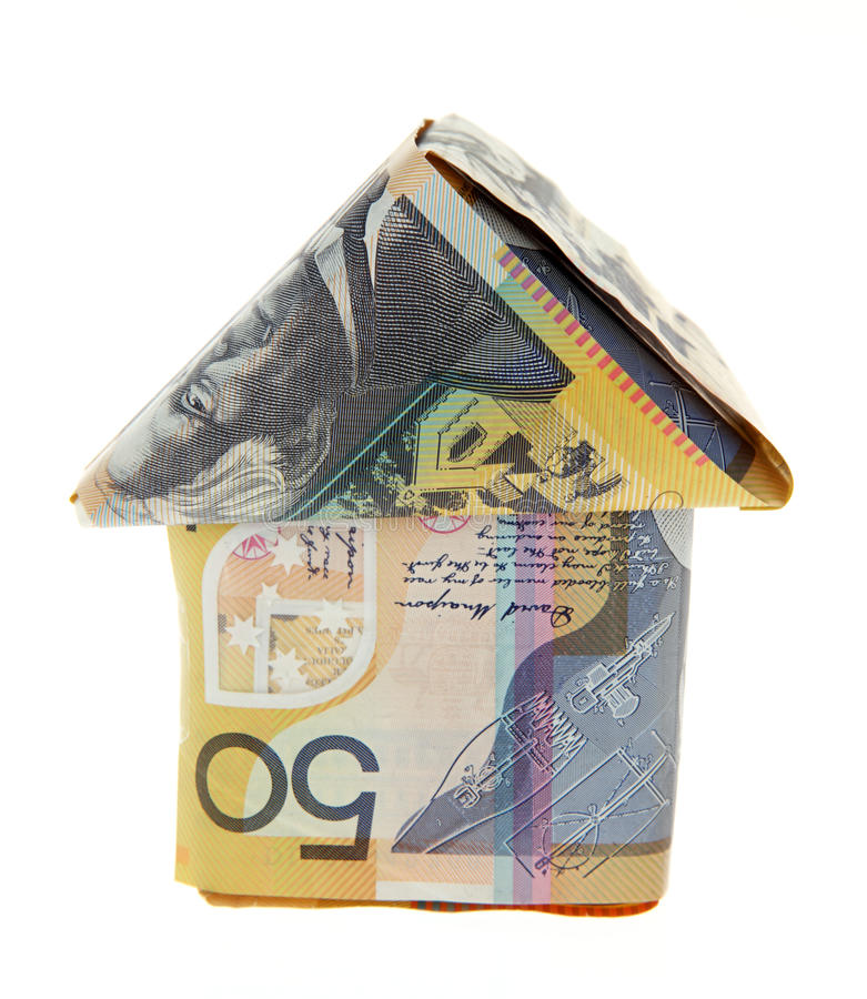Aussie Mortgage foto de archivo