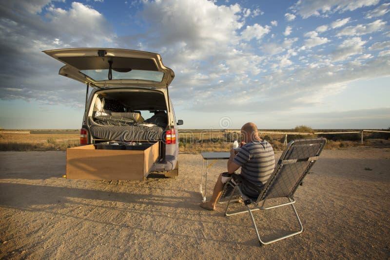 Aussie Travel Breakfast imagem de stock royalty free
