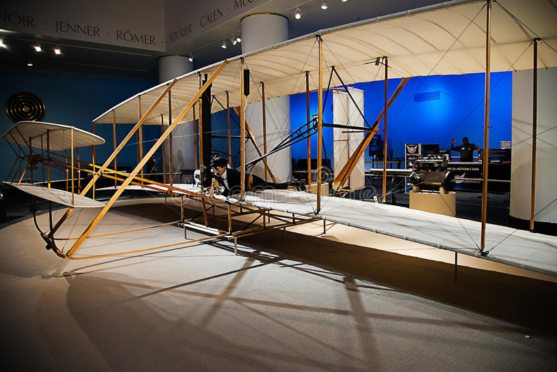 Ausstellung der Wright-Brüder lizenzfreie stockfotos