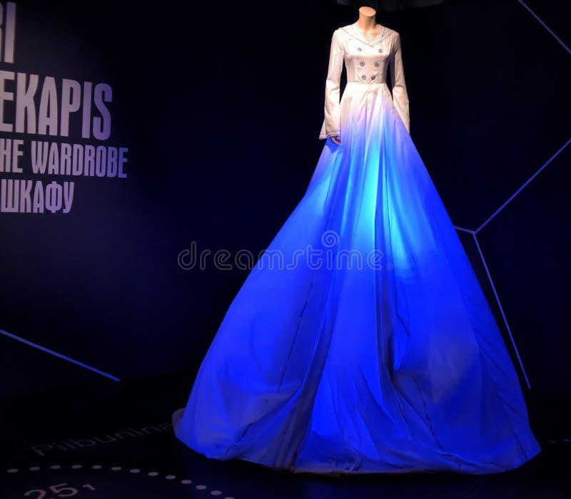 Ausstellung eingeweiht der Mode von Meer lizenzfreies stockfoto