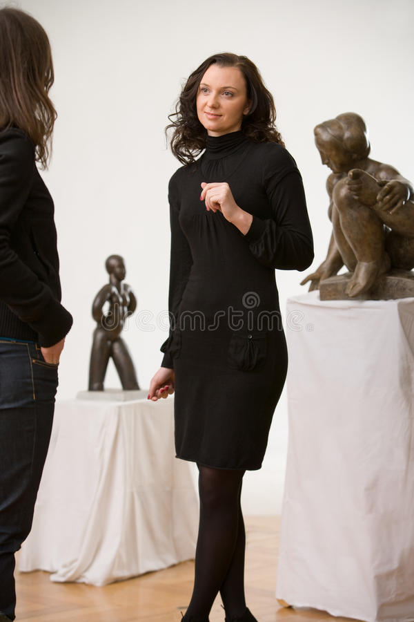 Ausstellunghalle lizenzfreie stockfotos