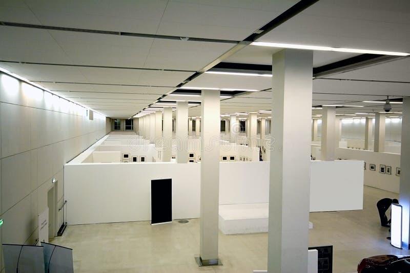 Ausstellunginnenraum stockfoto