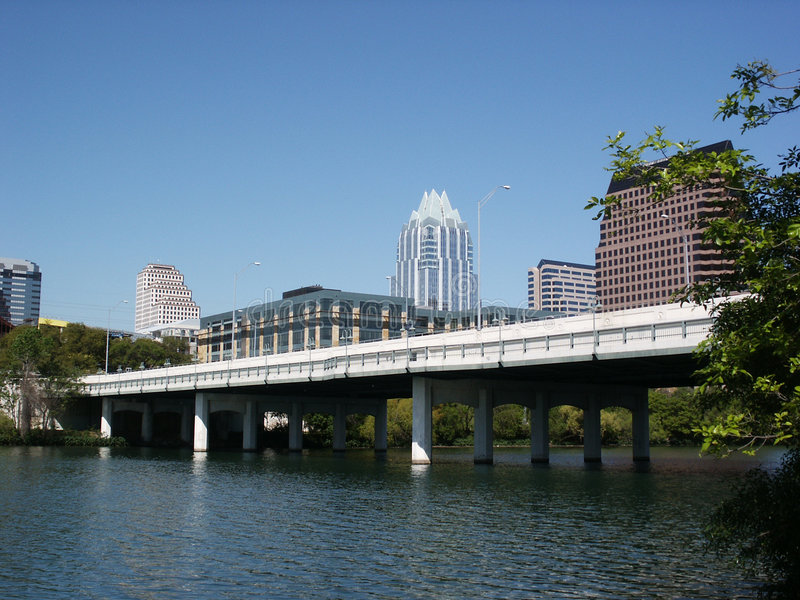 austin городской texas стоковое фото rf