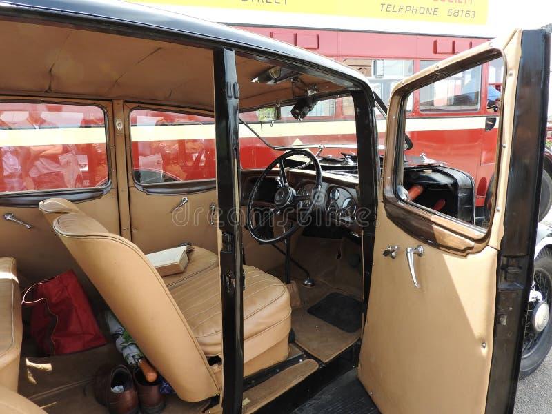 Austin 1936 12 arkivbild