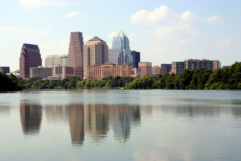 Austin del centro, il Texas fotografie stock libere da diritti