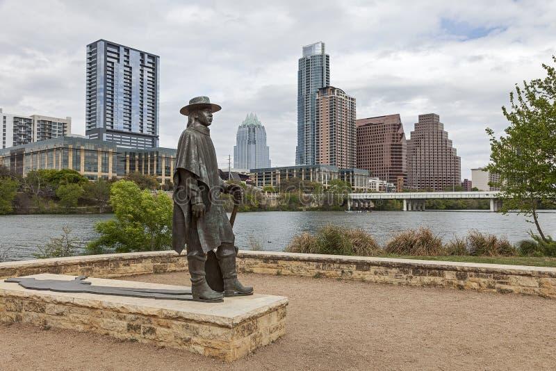 Austin du centre, le Texas photos libres de droits
