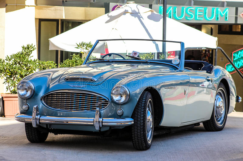 Austin Healey 3000. A classic Austin Healey 3000 Sports Car royalty free stock images