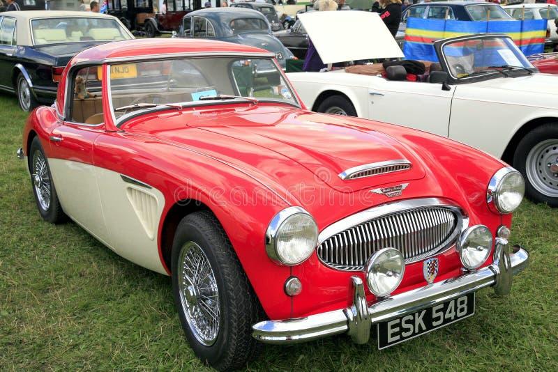 Austin Healey 1962 3000 M II stockbild