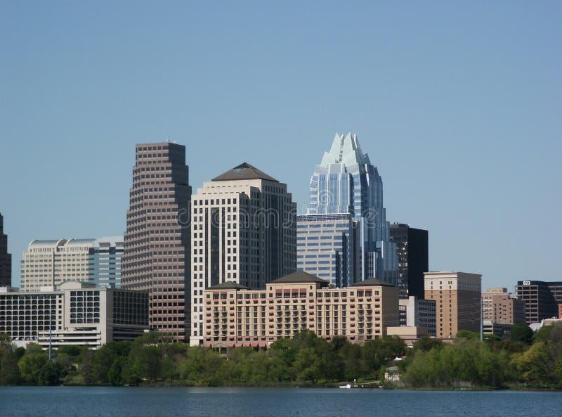 Austin, il Texas: Del centro immagini stock