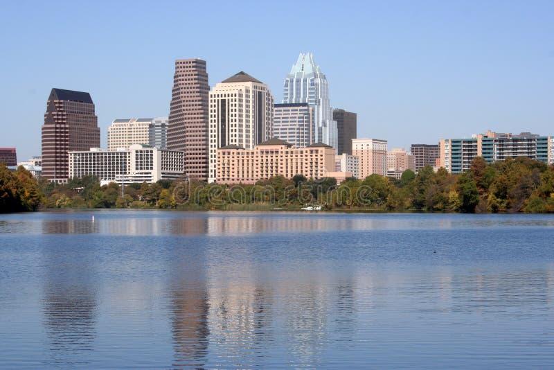 Austin, il Texas: Del centro fotografie stock