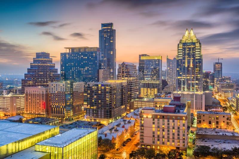 Austin, il Texas, U.S.A. immagini stock libere da diritti