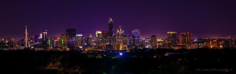Austin linia horyzontu zdjęcie royalty free