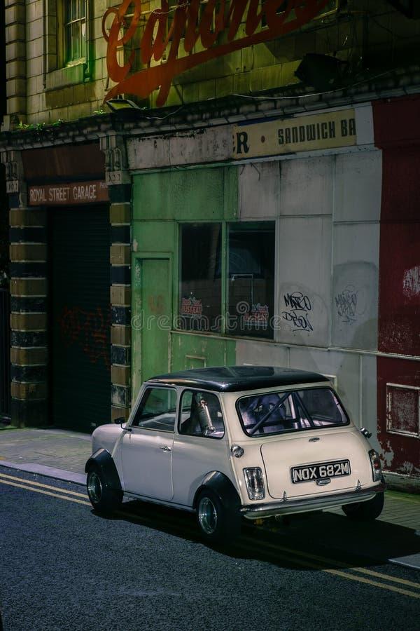 Austin Mini 1973 免版税库存照片