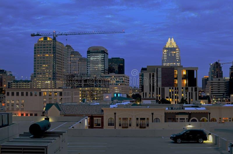 Download Austin by night editorial photo. Image of austin, scraper - 34911871