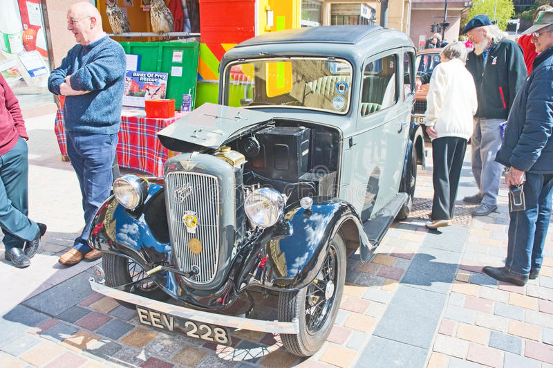 Download Austin Seven Saloon At Inverness Rally Editorial Photography - Image: 25389017