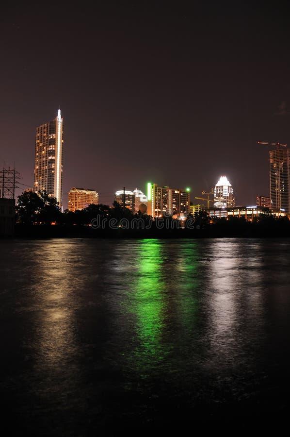 Austin-Skyline lizenzfreies stockfoto
