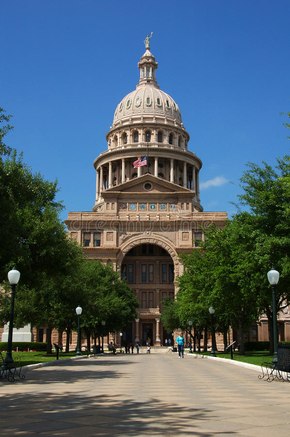Austin, Texas capitol building. State capitol building in Austin, Texas stock photography