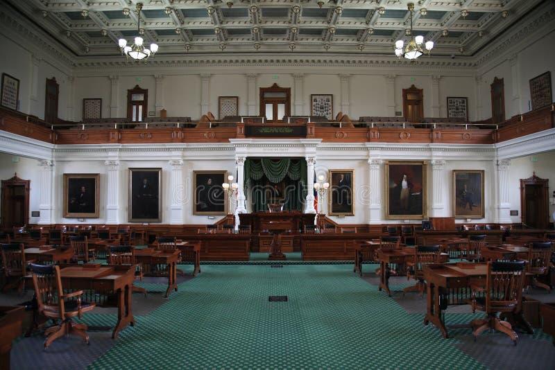 Austin Texas de Kamer van de Senaat royalty-vrije stock afbeelding