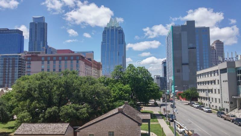 Austin Texas Horizon royalty-vrije stock afbeelding