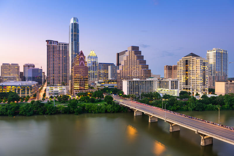 Austin Texas Horizon royalty-vrije stock fotografie