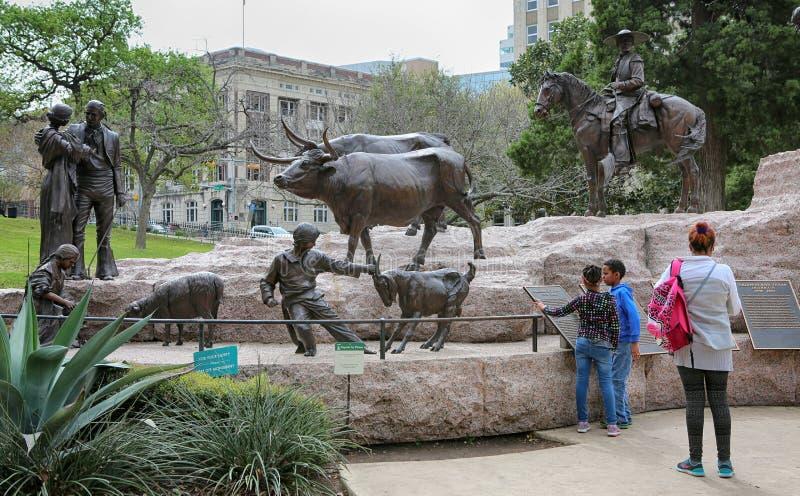 Austin, Texas-Markstein stockfotografie