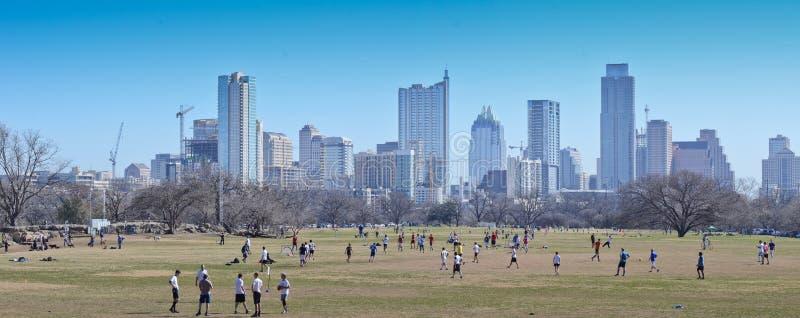 Austin Texas skyline royalty free stock image