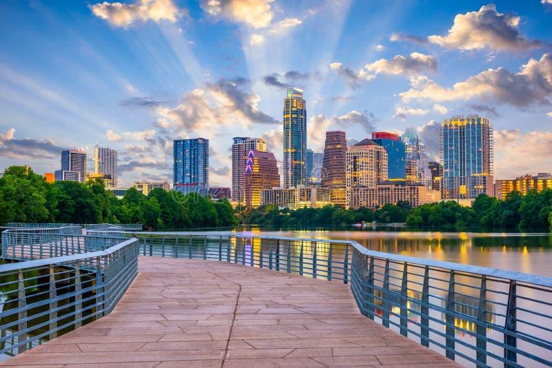 Austin, Texas, USA stockbilder