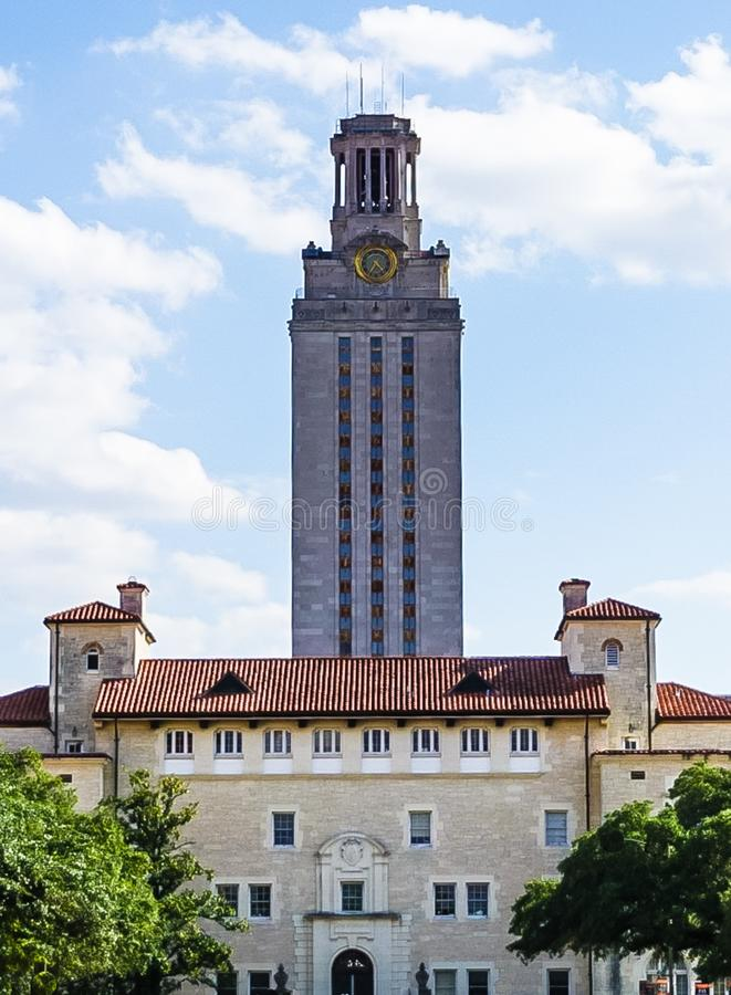 AUSTIN, TEXAS, USA - SEPTEMBER 17, 2017: The Tower at The University of Texas stock photo