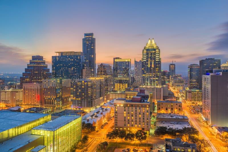 Austin, Texas, USA-Stadtbild lizenzfreies stockbild