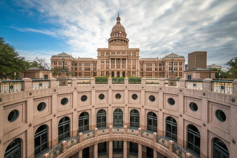 Austin, Texas, USA at the Texas State Capitol. Rotunda in the afternoon royalty free stock images