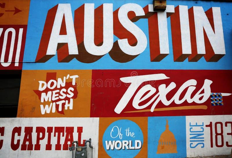Austin, TX, 6ta calle imagen de archivo libre de regalías