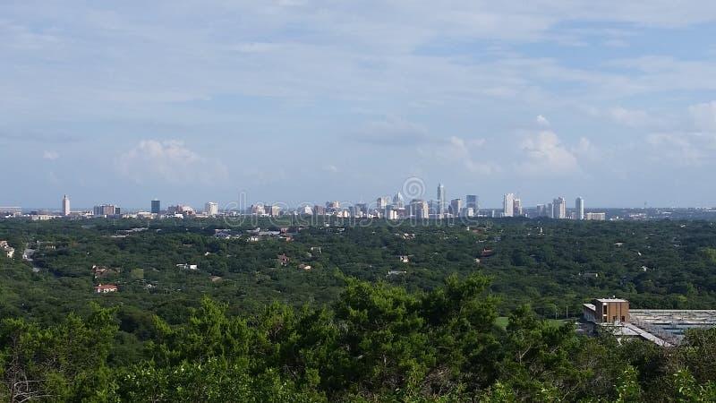 Austin From uma distância imagens de stock royalty free