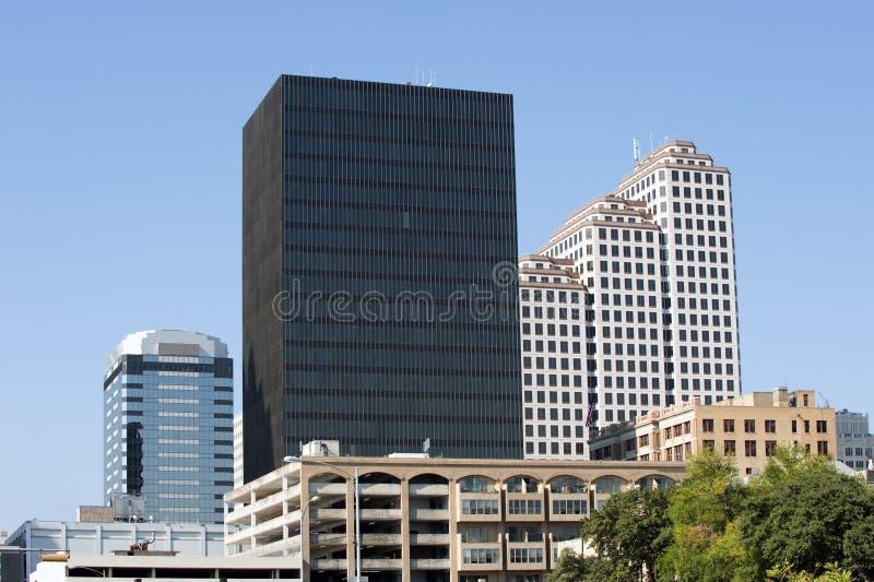 Austine downtown stock photo