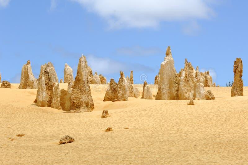 Austrália - deserto dos pináculos foto de stock royalty free