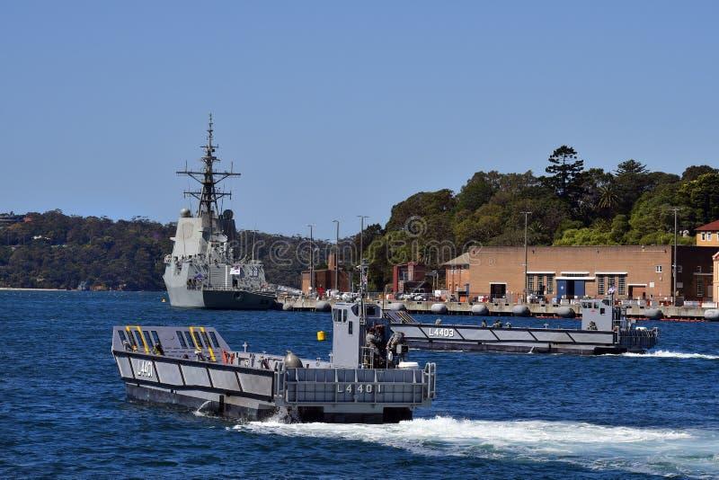 Austrália, marinha, envia imagem de stock royalty free