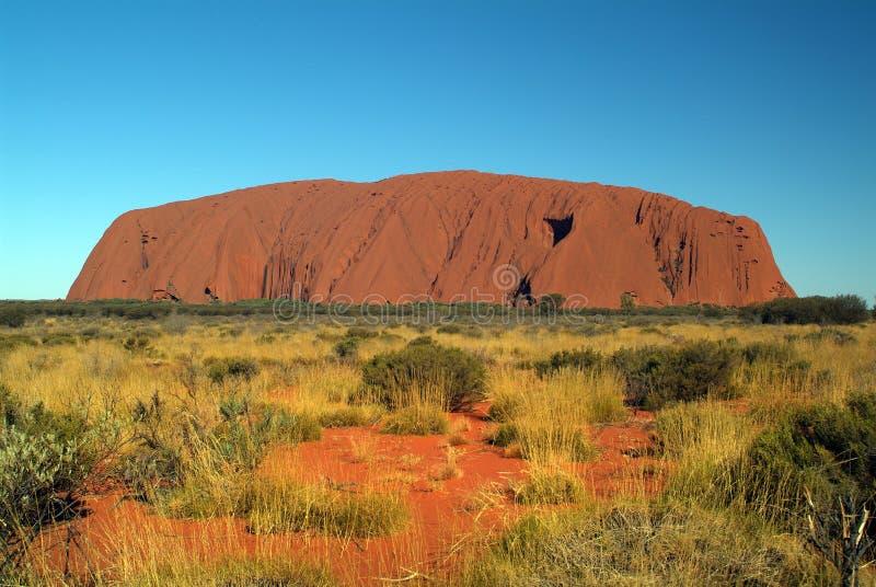 Austrália, NT, rocha de Ayers fotografia de stock royalty free