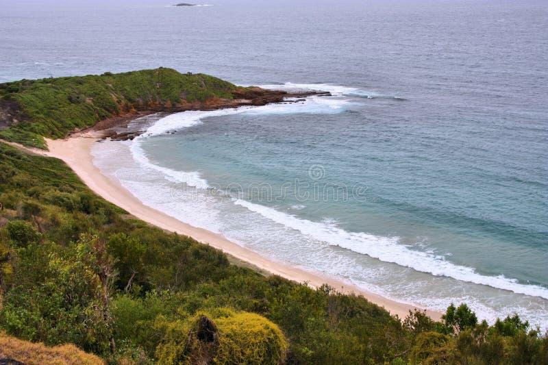 Austrália - praia de Warilla imagem de stock royalty free