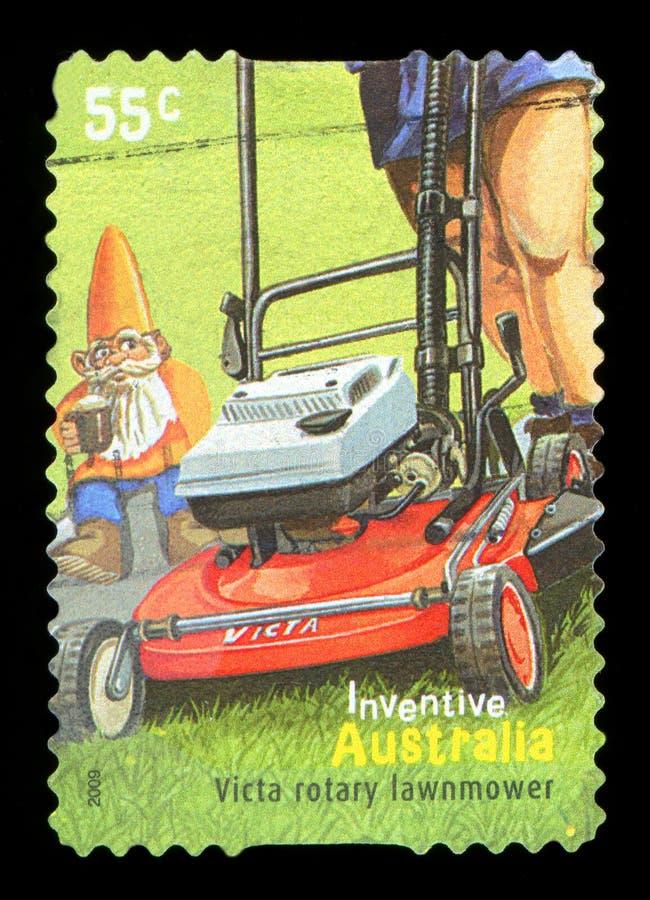 AUSTRÁLIA - selo postal foto de stock royalty free