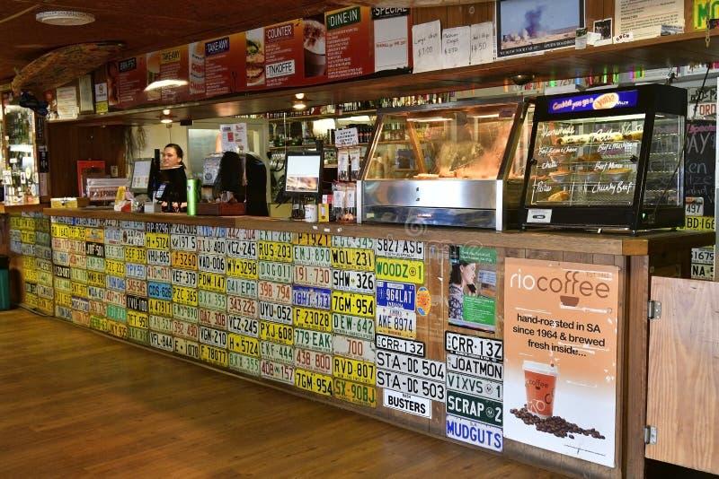 Austrália, Sul da Austrália, roadhouse de Pimba fotos de stock royalty free