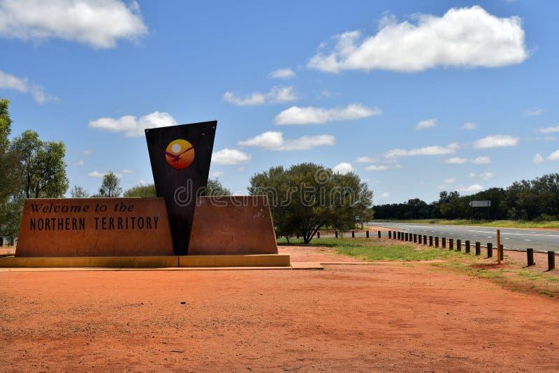 Austrália, Território do Norte, fronteira imagens de stock royalty free