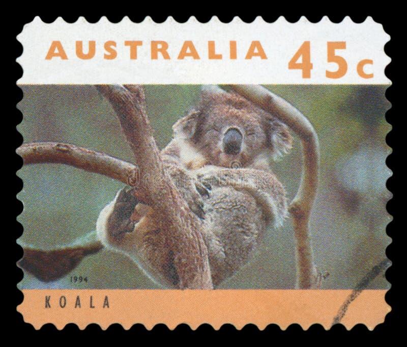 AUSTR?LIA - selo postal imagem de stock