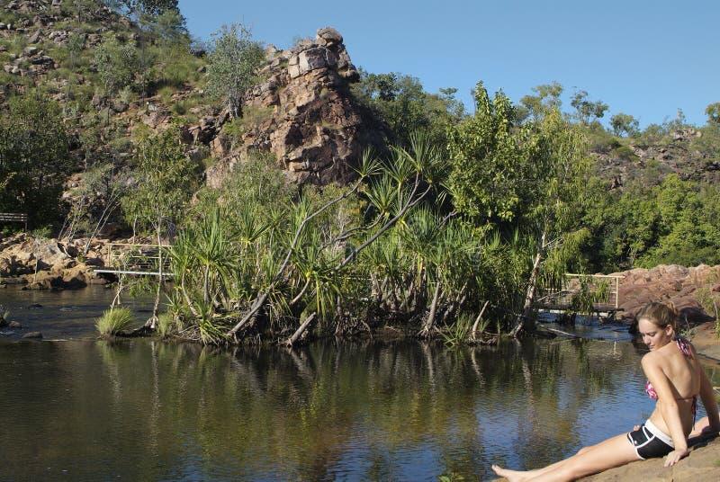 Australië, Noordelijk grondgebied stock foto