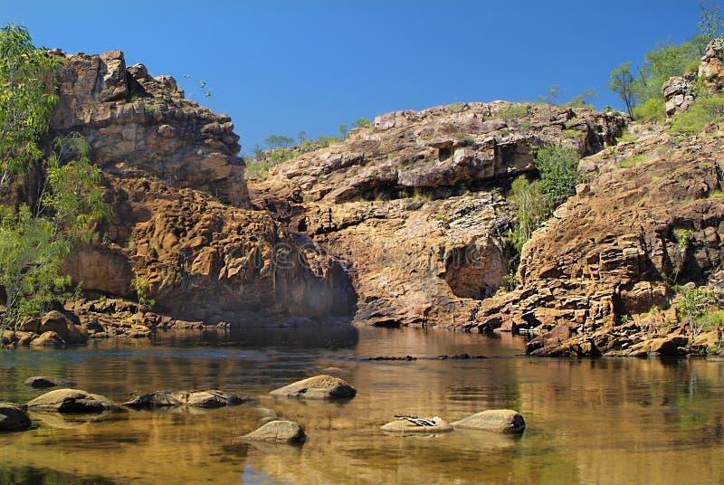 Australië, Noordelijk grondgebied royalty-vrije stock foto's