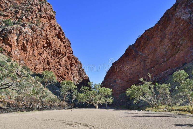Australië, Noordelijk Grondgebied, de Waaier van McDonnell stock afbeeldingen
