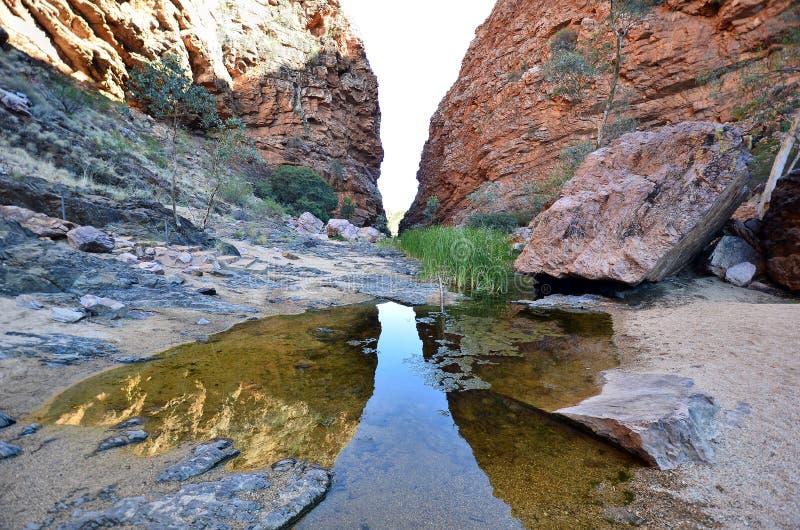 Australië, Noordelijk Grondgebied, de Waaier van McDonnell royalty-vrije stock fotografie