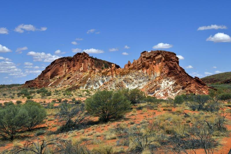 Australië, NT, Regenboogvallei royalty-vrije stock foto's