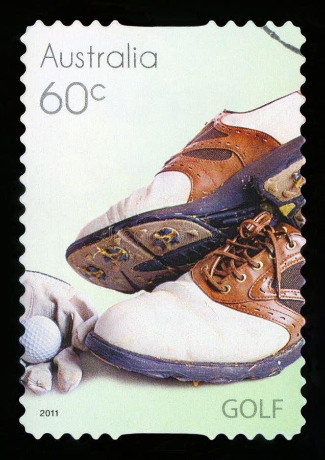 AUSTRALIË - postzegel stock afbeeldingen