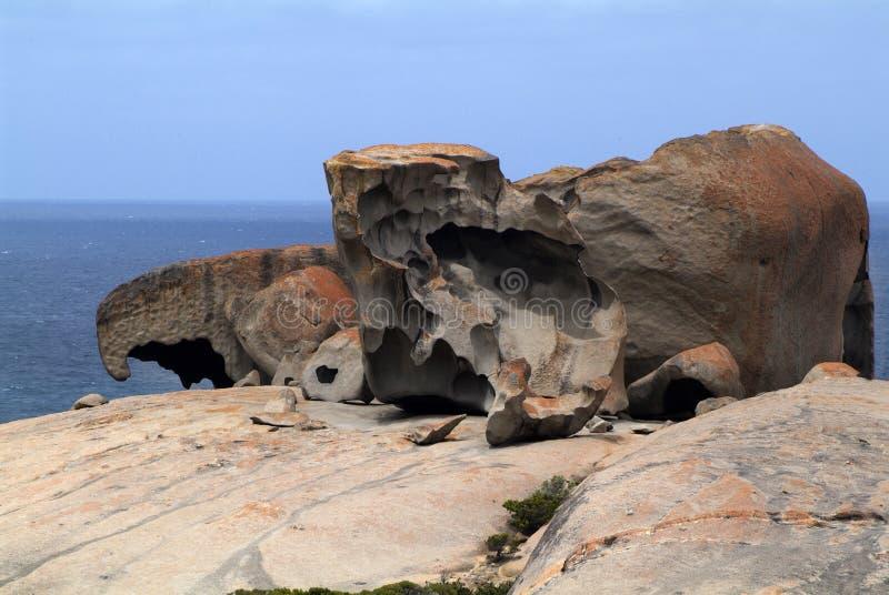 Australië, SA, Remarkables, stock foto's